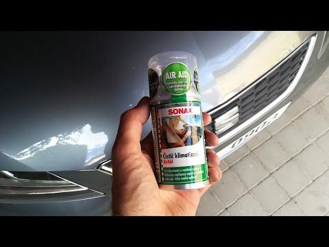Sonax Air Aid čistič Klimatizace, Air Condition Cleaner DIY Konec Zápachu