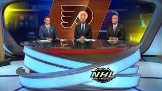 NHL Tonight:  Ron Hextall:  talks about signing James van Riemsdyk  Jul 1,  2018