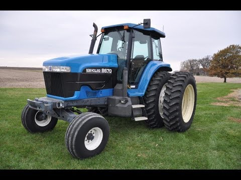 Pair of Tractors Sold for High Prices on Central Illinois Farm Auctions Last Week