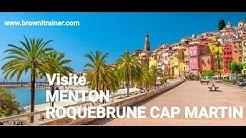 Visite Menton - Roquebrune Cap Martin Aout 2018