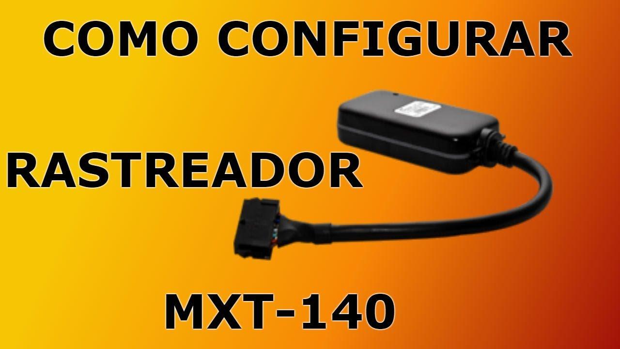 COMO CONFIGURAR O RASTREADOR DA BBOM - MAXTRAXK MXT-140