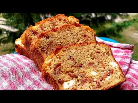 recette-facile-et-rapide-cake-salé-tomate-séchée-et-féta-!!!-🍅🧀🍅