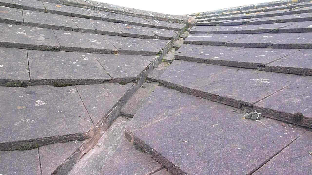 Leaking Roof Repair how to temporarily repair a leaking roof. uk - youtube