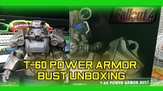 Fallout 4: T-60 Power Armor Bust Unboxing