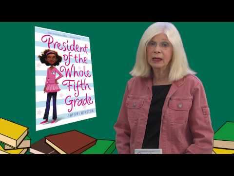 President of Whole 5th Grade by Sherri Winston - Book Review by Mrs. Read For Fun
