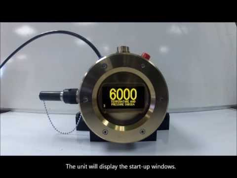 Online Electronics - 6000SD - Subsea Pressure and Temperature Datalogger