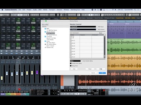 X-TOUCH How To: Out Of The Box with Cubase