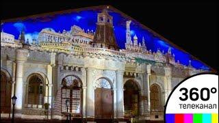 На День города в Москве покажут световое шоу