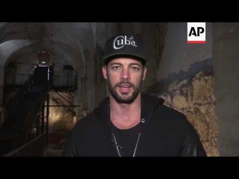 William Levy visits Tower of David