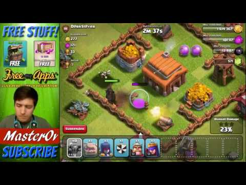 Clash Of Clans    Trolling In Bronze 3   1 Troops Vs A Base!    Clash Of Clans Comedy Raids!   YouTu