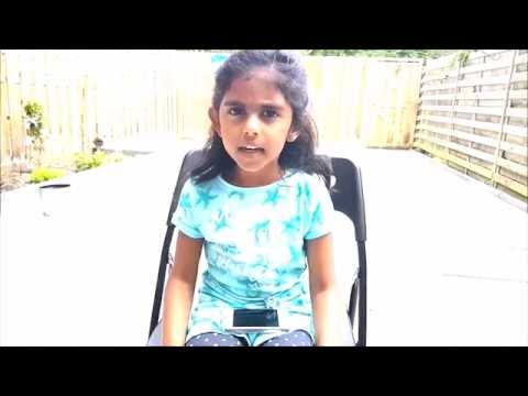 Slokas and bhajans - Ft- Anjali Pothula - Little singers student , SSMA