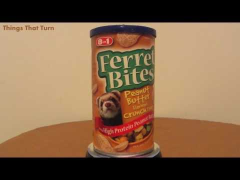 8 in 1 Ferret Bites Penut Butter flavored crunch treat _ My Video Museum