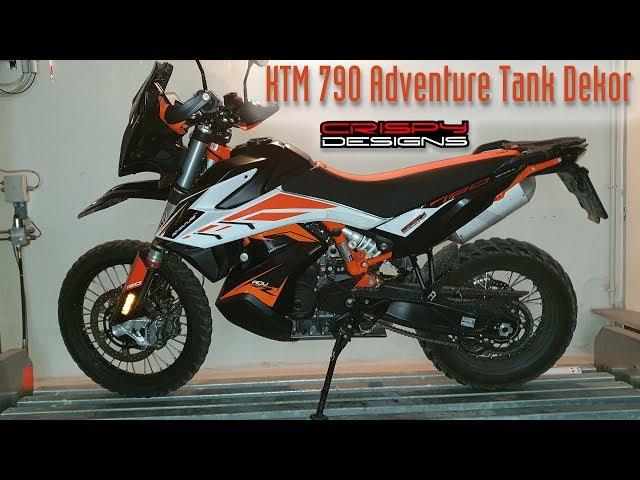 KTM 790 Adventure Tank Dekor