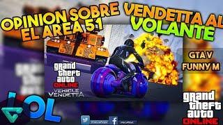 ¿DONDE QUEDA EL AREA 51? | GTA V Funny Moments | Vendetta Vehicular #1🚘