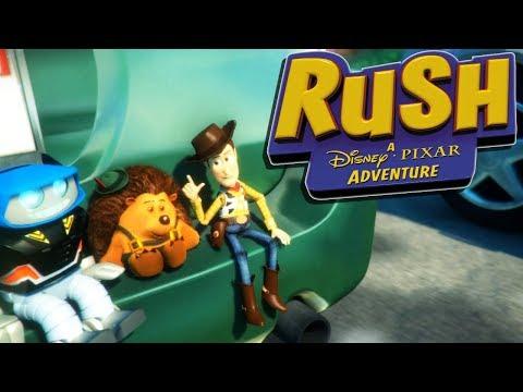 TOY STORY ADVENTURES! - RUSH: A Disney Pixar Adventure Gameplay