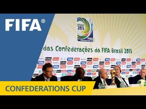 REPLAY: FIFA Confederations Cup 2013 Media Briefing - Organi