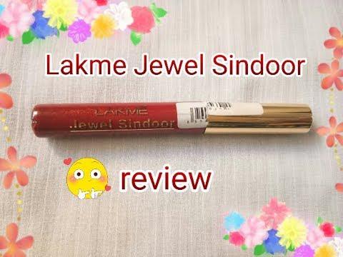 Lakme Jewel Sindoor maroon   review