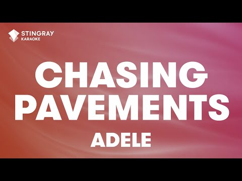 Chasing Pavements In The Style Of Adele