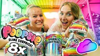8x POOPSIE SLIME SURPRISE - Cutie Tooties & Sparkly Critters ÜBERRASCHUNGEN mit Nina & Kathi öffnen