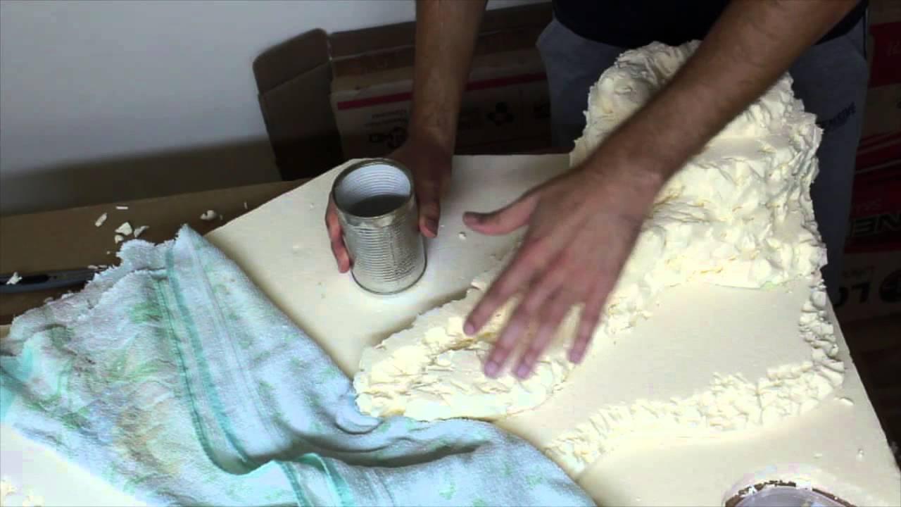 Creare cascata e fiume del presepe parte6 youtube for Laghetto per anatre fai da te