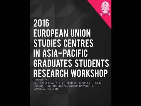 EU Centres in Asia Pacific: Graduate Student Presentations Session 5