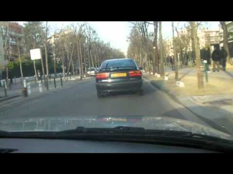 Paris By Car-(Bois De Boulogne-Neuilly Sur Seine)