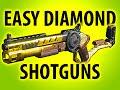 BLACK OPS 3 EASY DIAMOND CAMO SHOTGUNS @ItsMikeyGaming