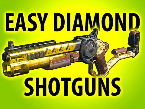 BLACK OPS 3 EASY DIAMOND CAMO SHOTGUNS @ItsMikeyGaming