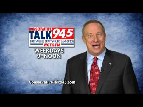 "Mike Gallagher....on the ""all-new"" Conservative Talk 94.5"