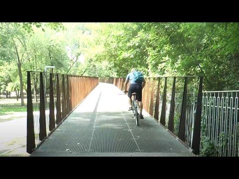 Телеканал Simon: Чи зручно пресуватися Харковом на велосипеді