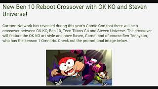 Ben 10 Reboot Season 3 - Shock Rock Villain, Forever Knights, Crossover and New Omnitrix