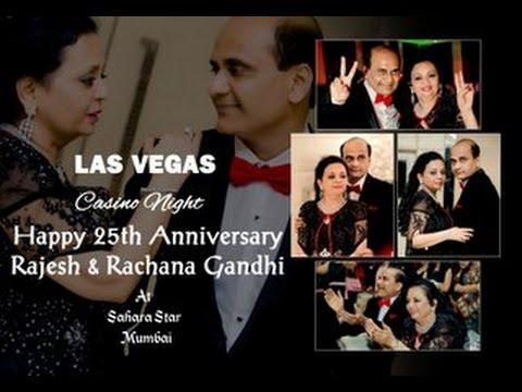 | Rajesh & Rachana 25th Anniversary - Short Film | Las Vegas - Casino Night |