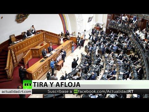 La Asamblea Nacional de Venezuela en desacato convoca una votación para derrocar al presidente