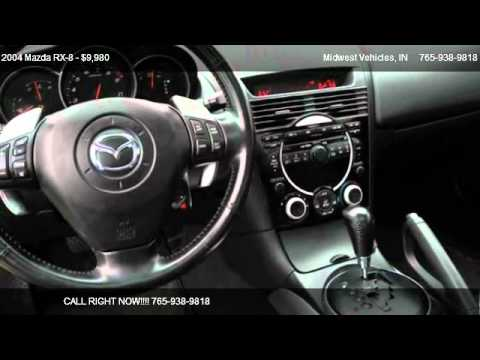 2004 mazda rx 8 leather automatic for sale in greensburg in 47240 youtube. Black Bedroom Furniture Sets. Home Design Ideas