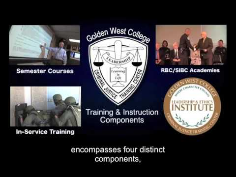 CJ-Criminal Justice - Golden West College