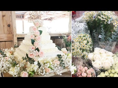 Couple Makes Stunning DIY Wedding Cake for $9 at Costco