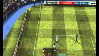 pes 2008 barcelona  vs real madrid liga amistoso (ps3)