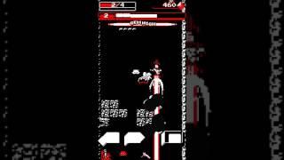 スマートフォン向けゲーム「Downwell」をプレイしてみました