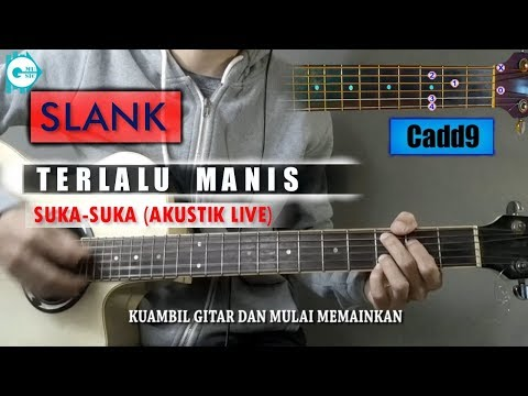 Chord Gitar | Slank Terlalu Manis (Suka-Suka) Versi Petikan Akustik Ridho