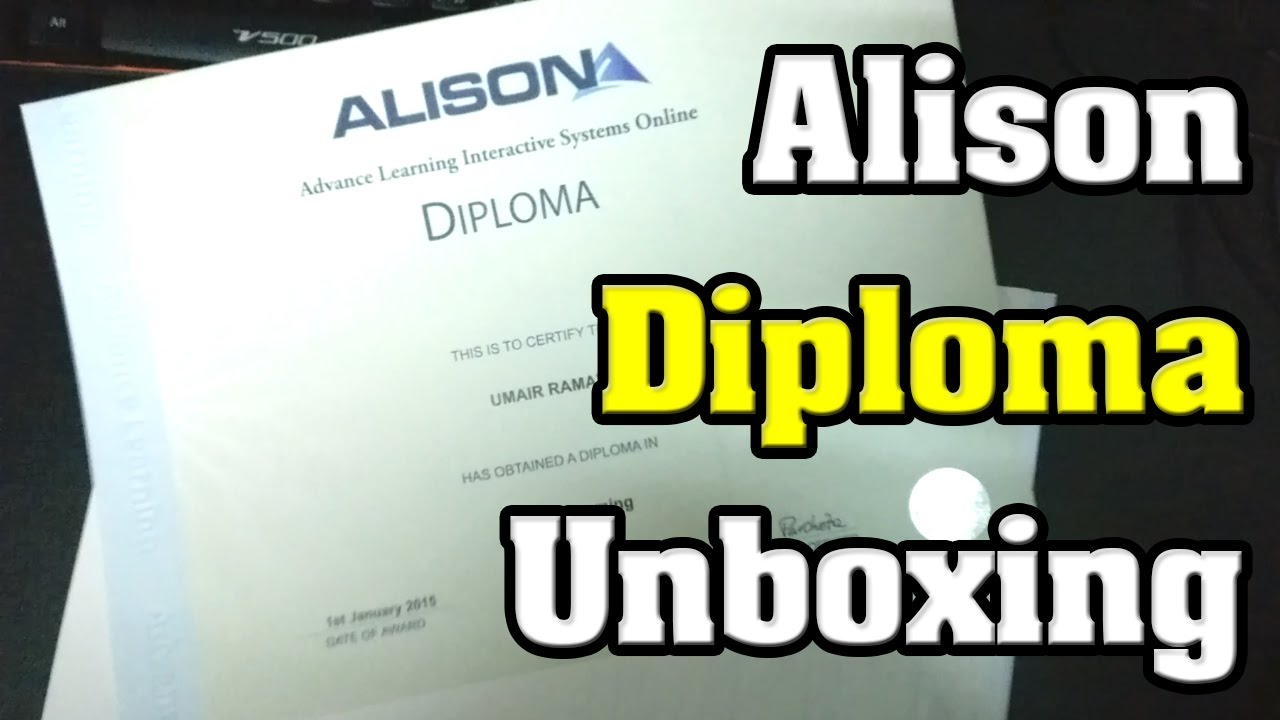 got parcel from alison diploma in c programing diploma in got parcel from alison diploma in c programing diploma in web business marketing youtube xflitez Gallery