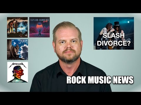 Rock Music News: Slash getting divorced, Taylor Hawkins