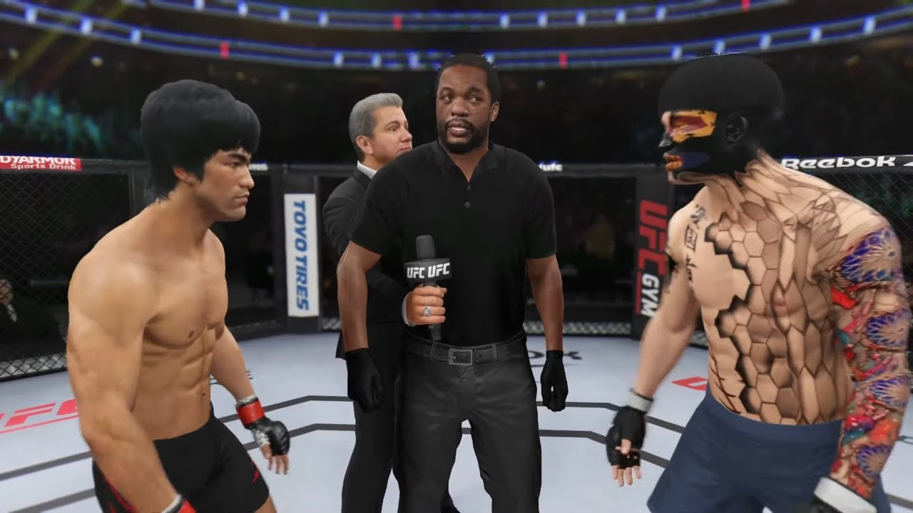 UFC 4 | Bruce Lee vs. Vietnamese Cyborg (EA Sports UFC 4)