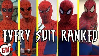 A Complete History of Non-Movie SPIDER-MAN Suits