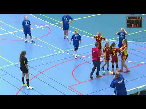Skadevifinal 2017 F06 IF Hallby HK 2 - Tyresö Handboll 2