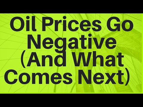 Oil Prices Go Negative (And What Comes Next)
