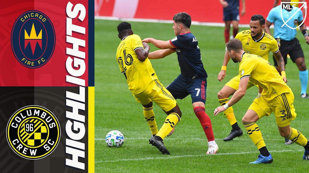 Chicago Fire vs Columbus Crew SC | September 12, 2020 | MLS HIGHLIGHTS