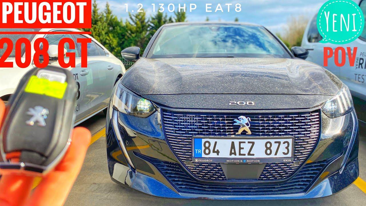 2020 Peugeot 208 GT-Line Allure - Review, Fahrbericht, Test, Ausblick 208 E