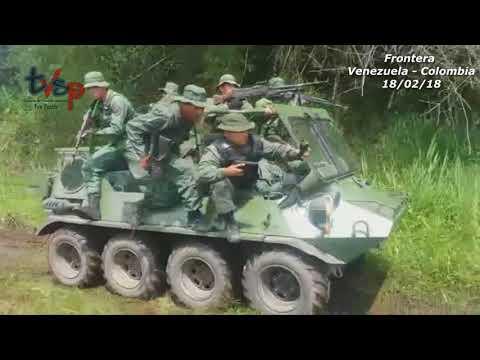Así Combaten El contrabando la Frontera con Colombia