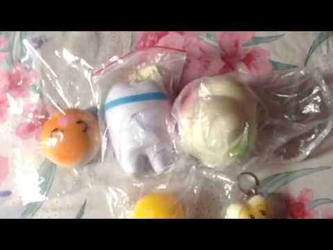 Squishy Dan Slime : Squishy I collection?? - YouTube