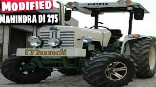 Modified Mahindra DI 275 Tractor । New named is Mercedes Benz ।